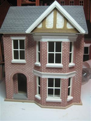 Dolls House Kit Building And Decorating Project By Bromley