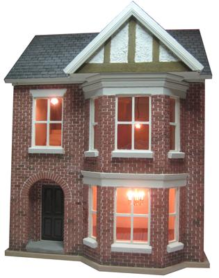 Dolls House Kit Building Decorating And Lighting Project Review