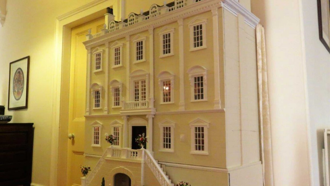 Dolls House with New Front Facade