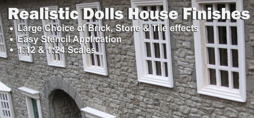 Dolls House Decorating Materials