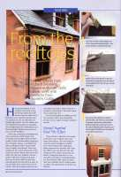 Dolls House Roof Tiles Magazine Article