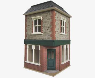 bromley craft products dolls house brick stone and roof tile