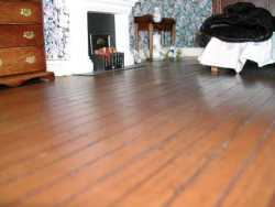 Dolls House Floorboards -  Application