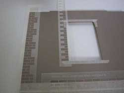 Dolls House Quoins Stencil