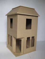 Undecorated Dolls House Kit