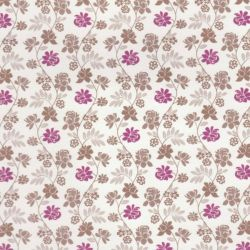 Gold & Pink Dolls House Wallpaper