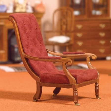 William IV Library Chair