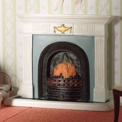 Georgian Fireplace with Hearth
