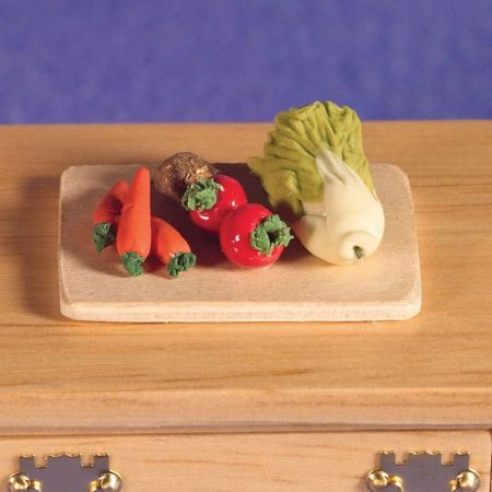 Chopping Board with Vegetables