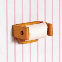 Toilet Roll and Holder