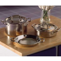 Chrome Pans x5 pcs