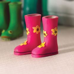 Pair of Flower Power Wellies