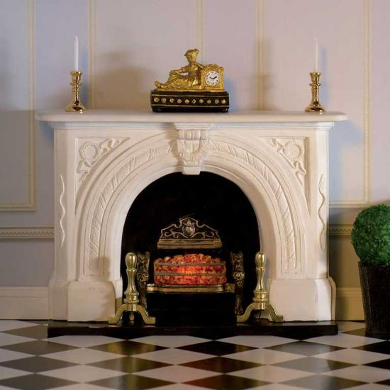 'Carved Stone' Fireplace