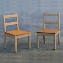 Modern Chairs Grey / Pine