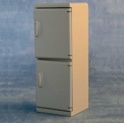 Modern Grey Fridge Freezer