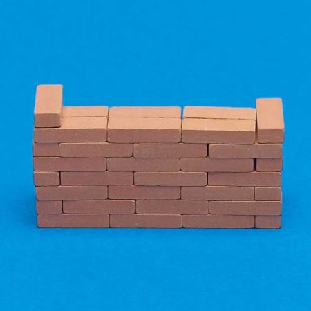 Individual Clay Bricks x50