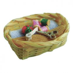 Miniature Sewing Basket