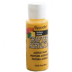 Crafters Acrylic - 59ml Acrylic - Yellow 04