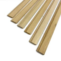 "Skirting Board Moulding 6x 18"" Lengths -1:12 Scale"