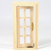 Small French Window for 1:12 Scale Dolls House