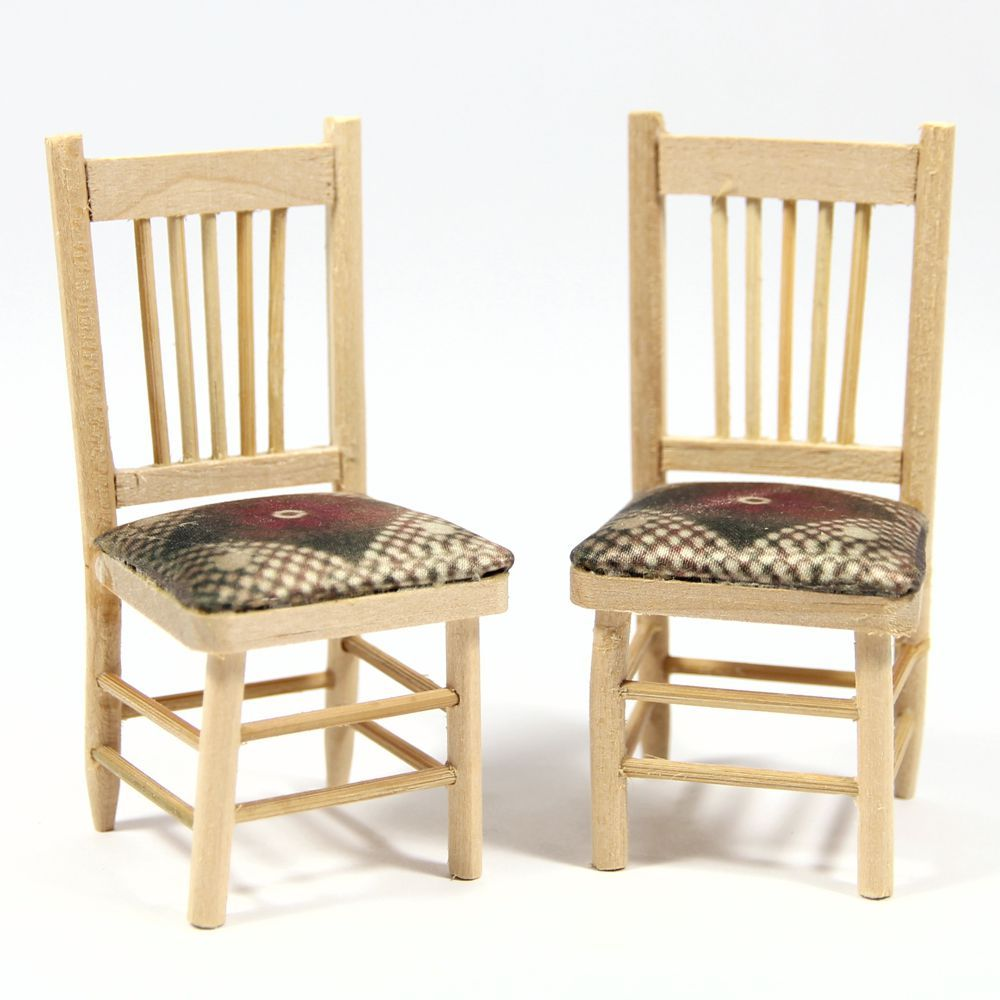 Dining Chair Unfinished Wood Bef161 Bromley Craft