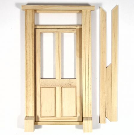 Glazed Shop Door For 1 12 Scale Dolls House 9246