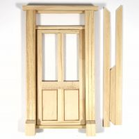 Glazed Shop Door for 1:12 Scale Dolls House