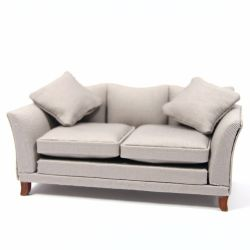 Grey Sofa for Dolls House