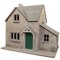 Hurstwood Cottage Prototype with Stone Finish 1:12 Scale
