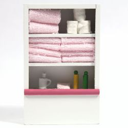 Shelf Unit with Toiletries