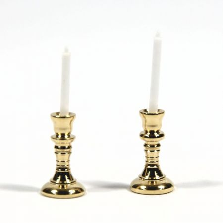 Candlesticks with Candles x2