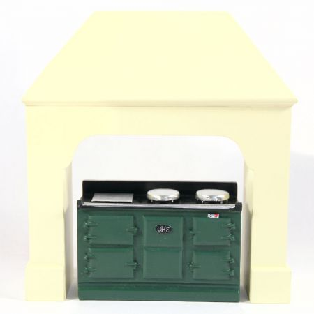 Large Green Aga Style Stove #2