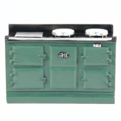 Large Green Aga Style Stove