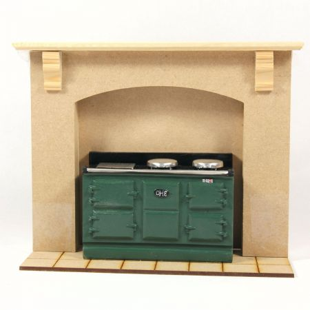 Chimney Kitchen Stove Surround Kit