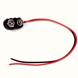 9V Battery Connector Lead
