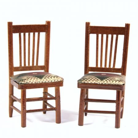 Dolls House Dining Chairs x2