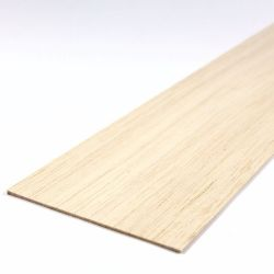Balsa Wood Sheet 450mm x 100mm x 1.5mm