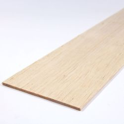 Balsa Wood Sheet 450mm x 100mm x3.0mm