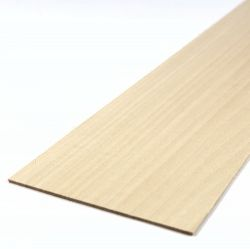 Basswood Sheet 450mm x 100mm x 1.5mm