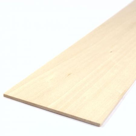 Basswood Sheet 450mm x 100mm x 3.0mm