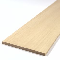 Basswood Sheet 450mm x 100mm x 6.0mm