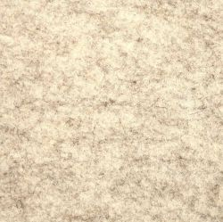 Premium Wool Dolls House Carpet - White / Beige