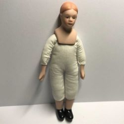 Boy or Girl Unclothed 12th Scale Doll