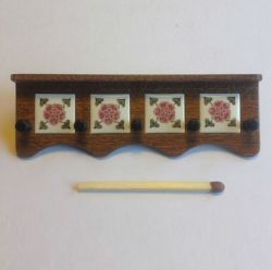 Coat Rack Kit, Tudor Rose