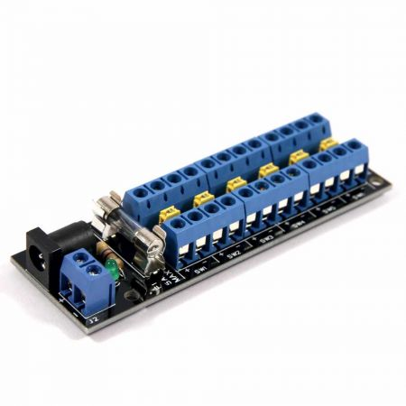 12 Socket Connector with 6 Switched