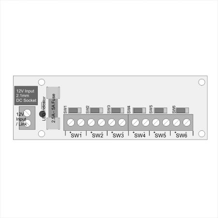6 Socket Connector with Individual Switches #2