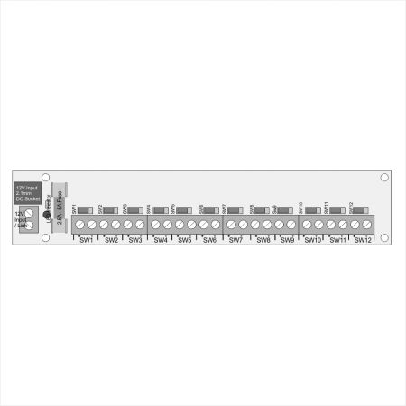 12 Socket Connector with Individual Switches #2