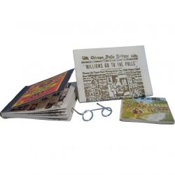 12th Scale Magazines, Newspaper & Glasses