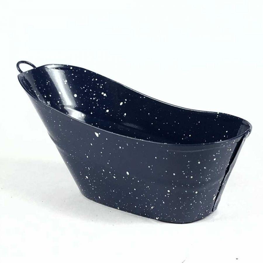 Tin Bath Tub. Tap To Expand