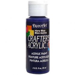 Crafters Acrylic - 59ml Acrylic Paint - Navy Blue